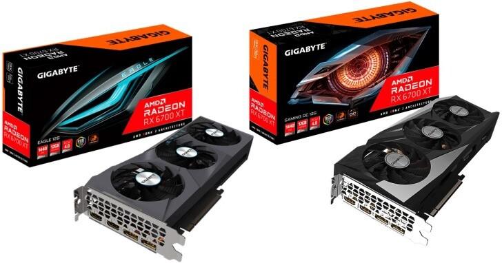 GIGABYTE推出Radeon RX 6700 XT系列顯示卡,搭載風之力散熱技術