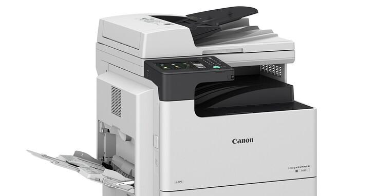7吋UI觸控螢幕、2GB記憶體,Canon 推出 imageRUNNER 2425 黑白雷射多功能複合機