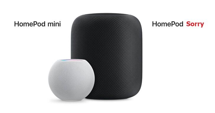 CP值比音質重要!蘋果將專注推出 HomePod mini,宣布初代 HomePod 宣布停產