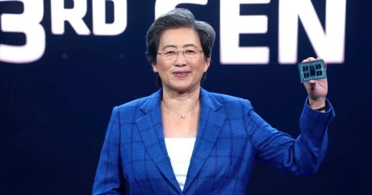 AMD推出全新第3代EPYC伺服器處理器,採Zen 3架構最高64核心