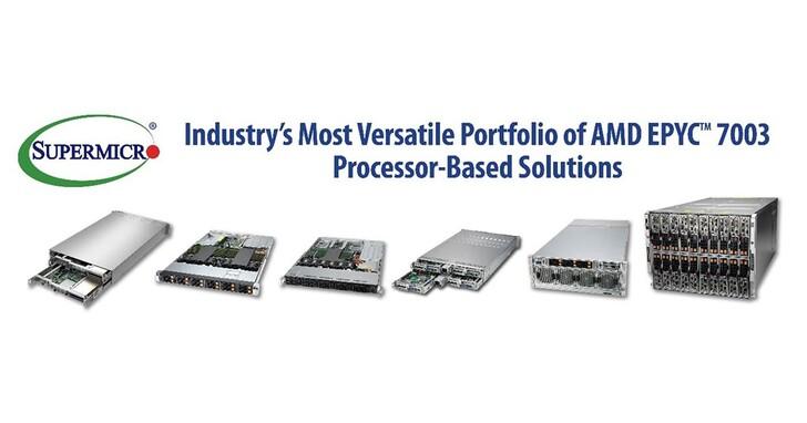 Supermicro推出AMD EPYC 7003架構中最豐富的系統組合,效能提升36%