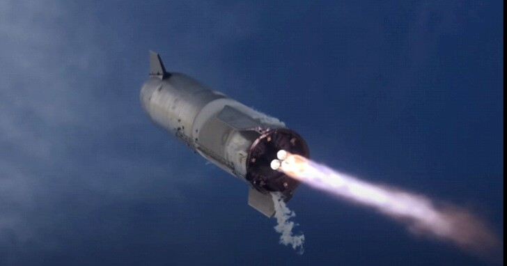 SpaceX發布星艦SN10發射和降落時,包括多個視角的4K影片