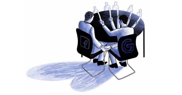 美國10名州長聯合提告Google和Facebook合作協議,認為是新時代數位廣告壟斷