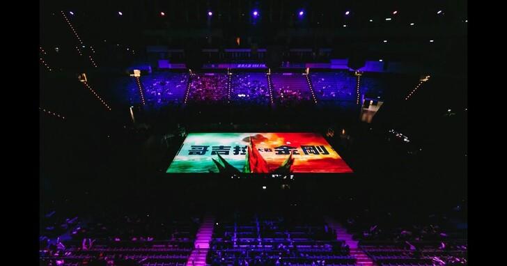 UBA首度巨幅球場投影《哥吉拉大戰金剛》相挺男女冠軍賽