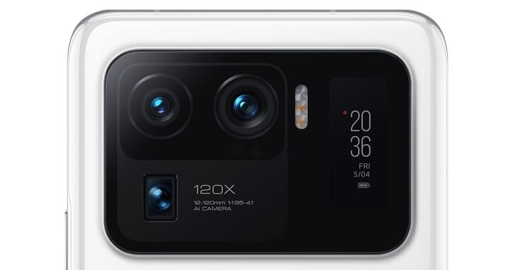 小米 11 Ultra 相機規格超狂!螢幕2K 四曲面,價格台幣26000元起