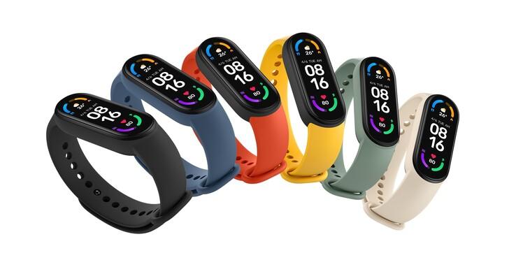 小米手環6 發表!價格1000元、加大50%全螢幕、 血氧飽和偵測、續航力14天,功能再升級