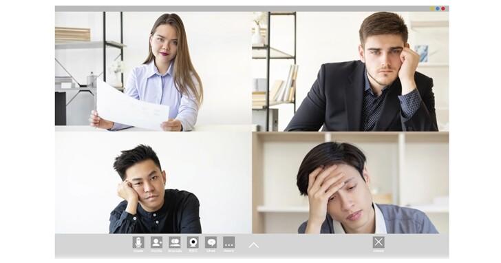 為什麼視訊會議比線下會議讓人感到更累?史丹佛大學的研究告訴你答案