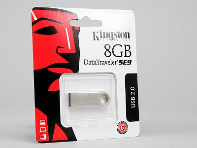 Kingston DataTraveler SE9 實測:比小拇指小的隨身碟