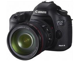 Canon EOS 5D Mark III 上市,61點對焦、6FPS 連拍高規格