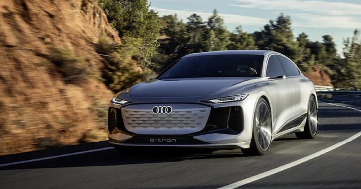 AUDI 公開 A6 e-tron concept電動概念車,設計語言再進化