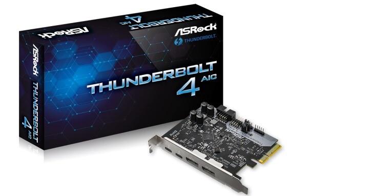 ASRock推出Thunderbolt 4擴充卡,還相容影音傳輸功能