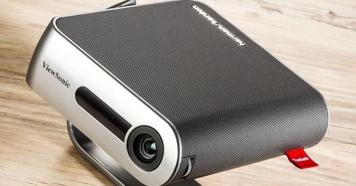 ViewSonic M1+_G2 開箱評測:智慧 LED 可攜式微型投影機