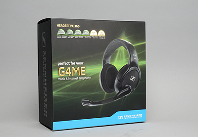 Sennheiser G4ME PC 360 電競耳麥,音樂表現也一把罩