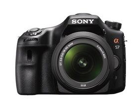 Sony A57 發表,1600萬畫素、12FPS連拍拉攏入門玩家