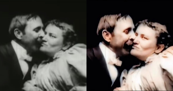 PornHub用自家獨門的資料集,修復了百年前「祖先級」的情色電影