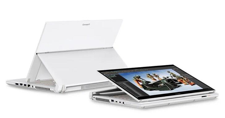 Acer 創作者筆電升級 Intel Core H 處理器,新增 16 吋 ConceptD 5、4K 解析度 ConceptD 7 Ezel