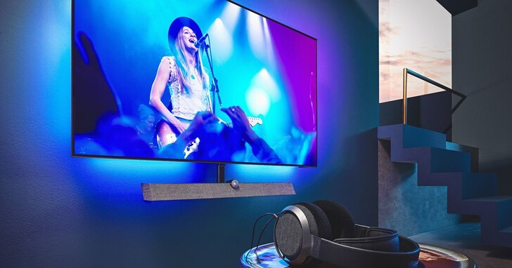 Philips OLED 935大型顯示器登場,獨家Ambilight情境光源再升級