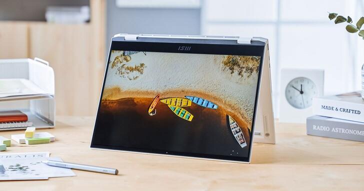 擁有「黃金比例」的商務筆電 MSI Summit E13 Flip Evo 評測:360 度翻轉螢幕滿足多元情境需求