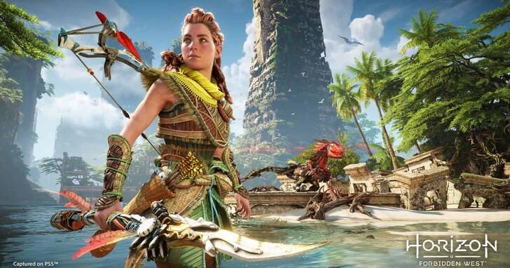 PS5 大作《Horizon Forbidden West》公開 14 分鐘全新實機遊玩畫面,更多機器巨獸將登場