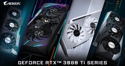 【COMPUTEX 2021 】GIGABYTE推出多款GeForce RTX 3080 Ti、3070 Ti系列顯示卡,還有水冷款Waterforce