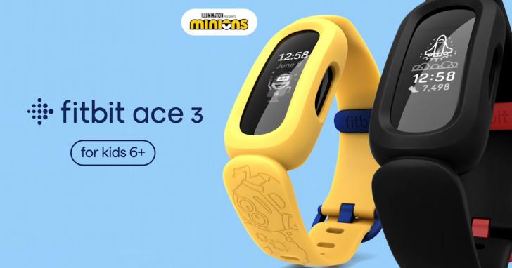 Fitbit 推出 Ace 3 小小兵特別版健康手環,售價 2,490 元