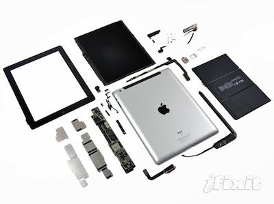 第3代 iPad 脫光光,iFixit 果然又率先搶拆