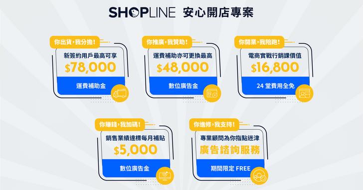 SHOPLINE疫情統計,實體店面來客數減少43%、營業額銳減54%