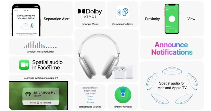 【WWDC 2021】AirPods 為聽障人士提供對話功能增強、Siri 自動朗讀變生活小幫手