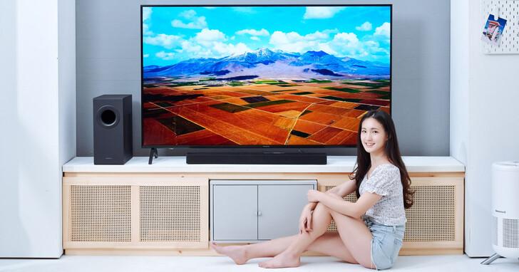 Panasonic SC-HTB490纖薄外型蘊藏龐大能量,320W 輸出功率讓你防疫居家,盡享影音震撼表現