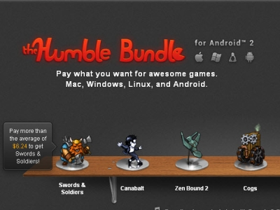 Android 再來 Humble Bundle for Android 2,免破解遊戲隨便賣