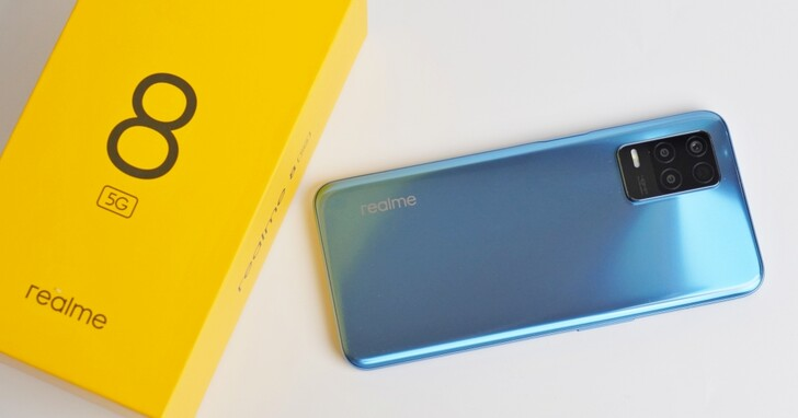 realme 8 開箱實測:6.5 吋 Full HD+ 大螢幕、4800 萬畫素 AI 三鏡頭,8,000 元有找的5G手機