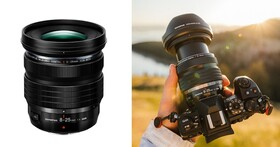 Olympus 推出M4/3新鏡 8-25mm F4.0 PRO,一鏡囊括超廣角與標準焦段視野