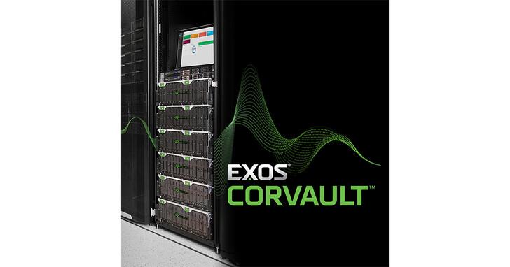 Seagate推出Exos CORVAULT硬體式自我修復區塊儲存系統