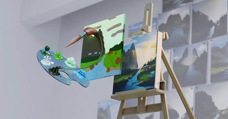 NVIDIA Canvas測試版上線,透過RTX加速AI技術創造逼真影像