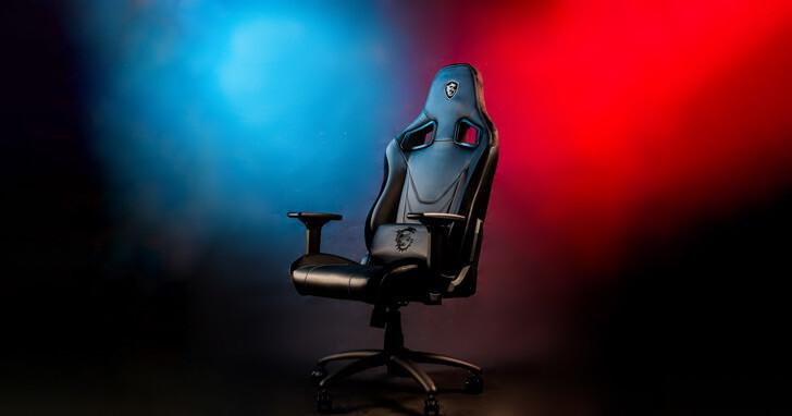 比美賽車座椅的專業電競椅-MSI MAG CH130X