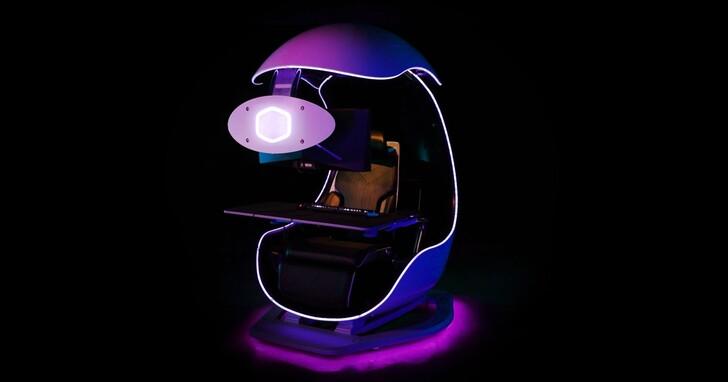 Cooler Master 個人化電競座艙 Orb X又進化了!支援三螢幕系統、內建 2.1 聲道音響