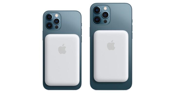 蘋果終於推出了 MagSafe 外接式電池,iPhone 12 用的磁吸式行動電源、售價 2,990 元