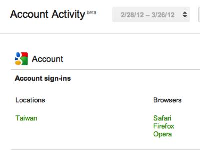 Google 帳戶活動測試版上線,一手掌握所有資訊