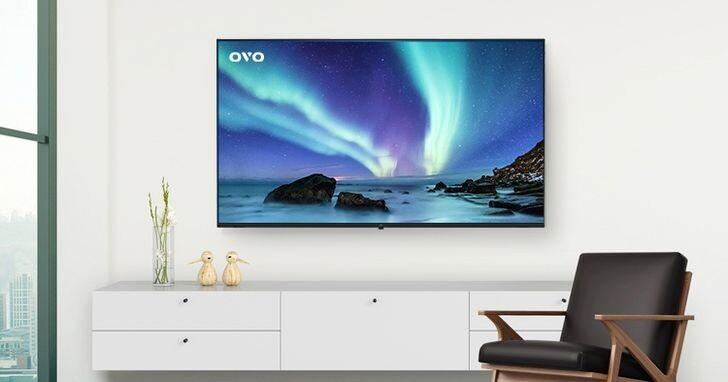 OVO新推65吋QLED 量子電視 T65,內含電視盒功能預購價23,980元