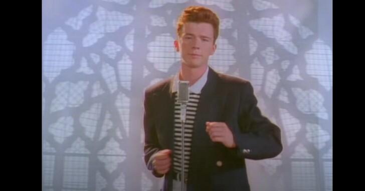 「瑞克搖」神曲《Never Gonna Give You Up》播放量達10億次,Rick Astley表達感謝