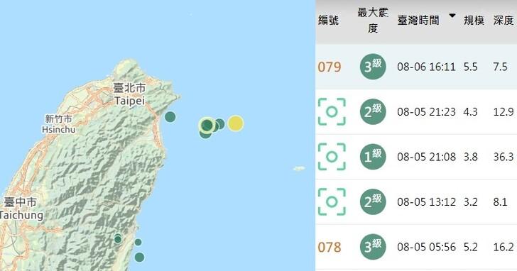 為什麼最近地震我都沒收到警報?災防預警標準 5/1 已修改