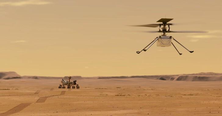 火星無人機超額完成了11次飛行,背後控制技術來自高通!現在有了搭載5G+AI的「升級版」