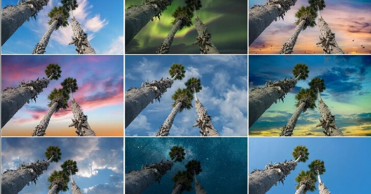 Photoshop桌面及iPad版推出天空替換、修復筆刷和魔術棒等新功能