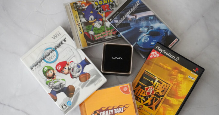 ECS LIVA Q3 Plus迷你電腦開箱玩,模擬器測試篇