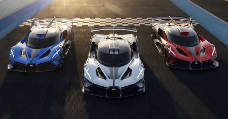 理論極速突破 500 km/h, BUGATTI Bolide 市售版全球限量 40 台!