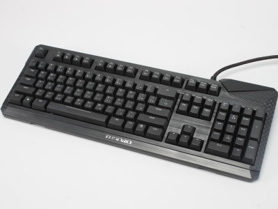 TESORO Durandal Ultimate 機械式電競鍵盤:全域背光、64 鍵輸出