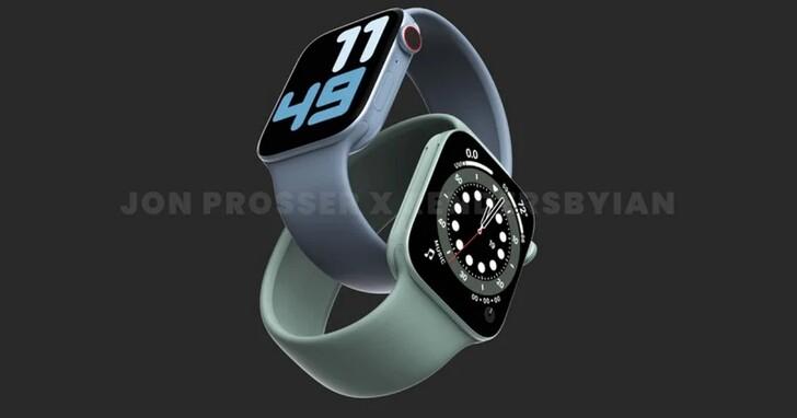 Apple Watch Series 7預計將採用新的錶面設計,以利用更大顯示幕的優勢