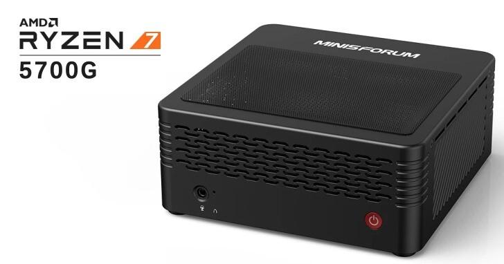 EliteMini X500-AMD迷你電腦搭載真正桌上型APU,比一代妖機更小巧