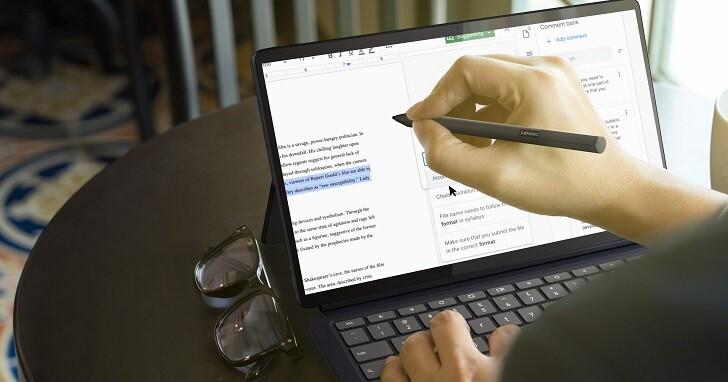 Lenovo IdeaPad Duet 5 Chromebook 發布,配備 13.3 吋 OLED 螢幕、售價約 12,000 元