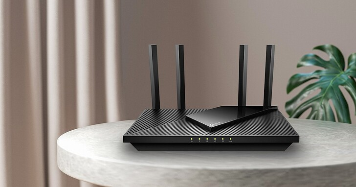 TP-Link Archer AX55 家用 Wi-Fi 6 路由器在台上市,搭載高通處理器,速度等級達 AX3000,售價 2,990 元
